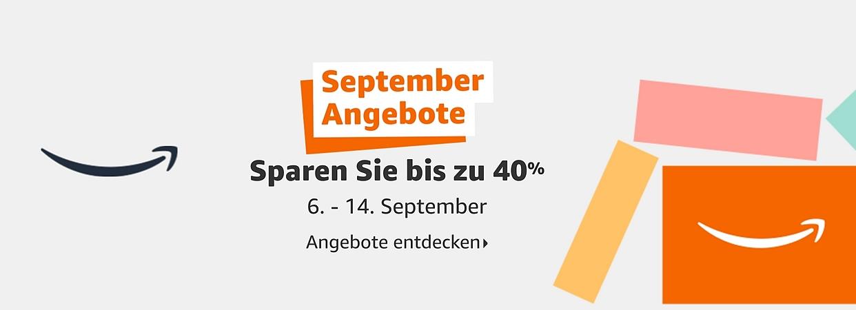 Amazon September Angebote (Bild: Amazon)