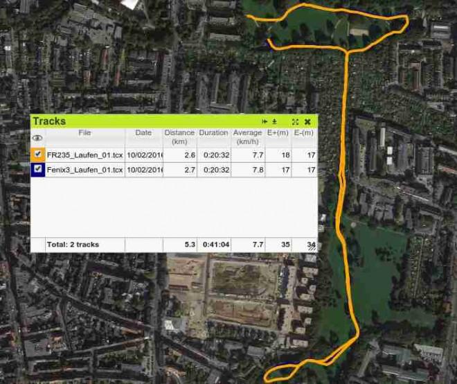 FR235 vs Fenix3: GPS